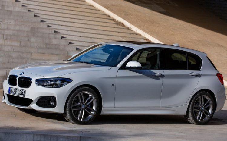 BMW 1 series hatchback 2016-2017 модельного года