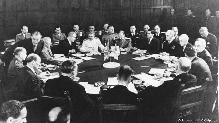 Заседание участников конференции 17 июля 1945 года