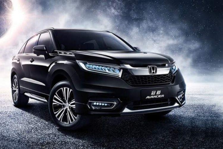 Honda Avancier 2017 модельного года