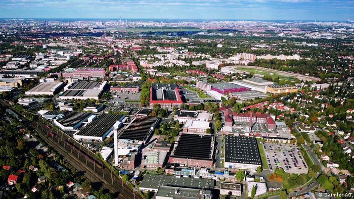 Старейший завод Daimler в Берлине