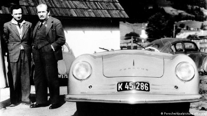 Фердинанд Порше и Ферри Порше, 1948 год