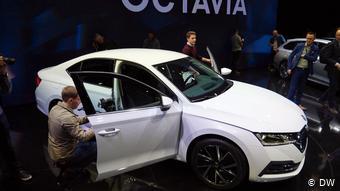 Прага, ноябрь 2019. Премьера 4-го поколения Skoda Octavia