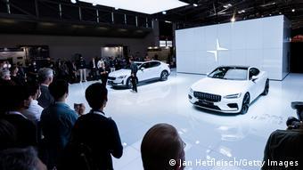 Мюнхен, сентябрь 2021. Презентация компании Polestar на международном автосалоне IAA
