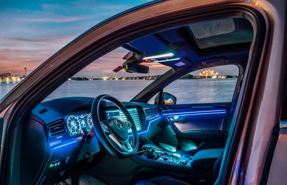Technology highlights of the new Touareg – Part 1:  Night vision protects people when driving in the dark
