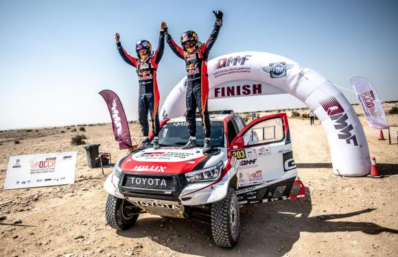 AL-ATTIYAH STORMS TO SIXTH VICTORY IN MANATEQ QATAR CROSS-COUNTRY RALLY