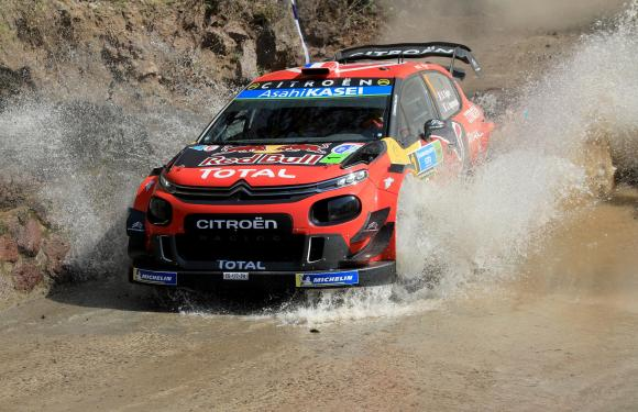 OGIER TURNS UP THE HEAT TO LEAD AFTER NINE STAGES IN RALLY GUANAJUATO MÉXICO