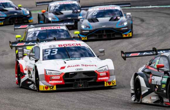One-two-three for Audi, runaway success forRené Rast