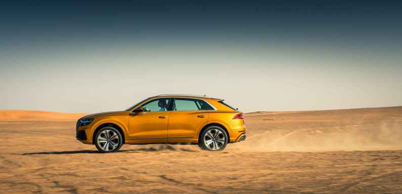 Audi Q8 leads H1 Sales Growth for Audi Middle East