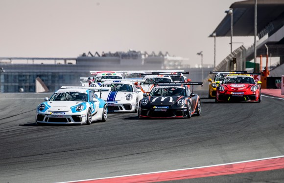 Yas Marina Circuit plays host to Round 3 of Porsche Sprint Challenge Middle East Season 11