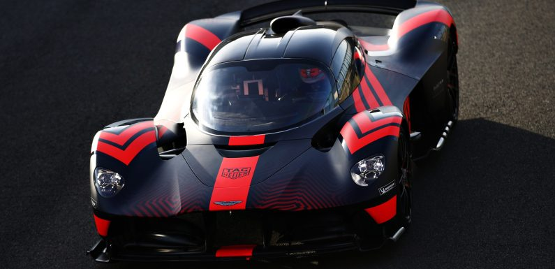 ASTON MARTIN VALKYRIE: FIRST LAPS FOR FORMULA ONE PROS AS ADDITIONAL PROTOTYPES JOIN TEST REGIME