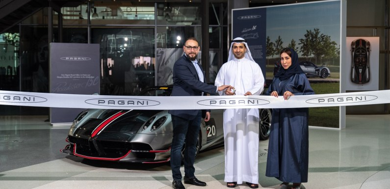 NEW PAGANI BRAND OFFICE OPENS IN DUBAI, WITH THE FIRST REGIONAL UNVEILING OF THE NEW LIMITED EDITION HUAYRA ROADSTER BC