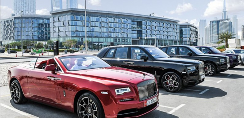 ROLLS-ROYCE URBAN DRIVE REVEALS UNRIVALLED EXCELLENCE OF MODEL LINE-UP
