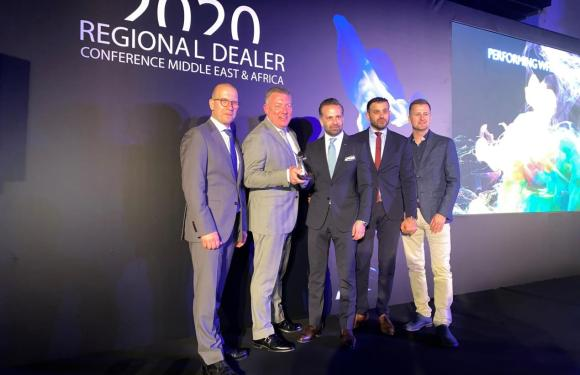 EURO MOTORS BAHRAIN CELEBRATE WINNING ESTEEMED 'ENGAGE' AWARD