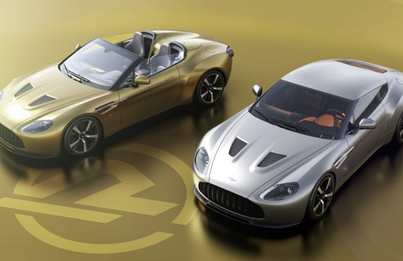 Aston Martin Vantage V12 Zagato Heritage TWINS by  R-Reforged confirms specification and UK production