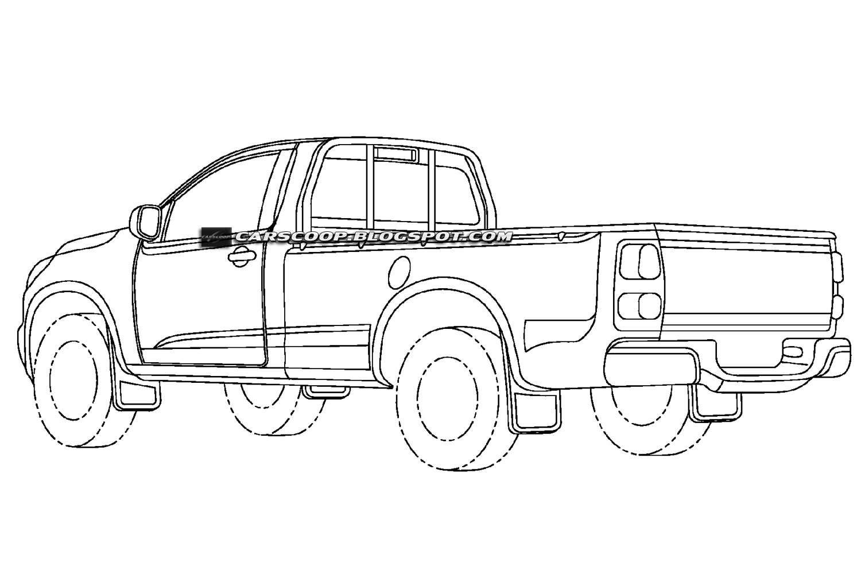 Registro De Patentes Da Nova Chevrolet S10 Confirma