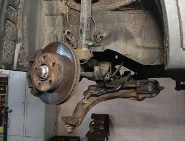 ремонт подвески