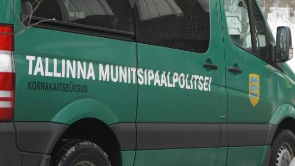 Автомобиль муниципальной полиции столицы Эстонии.