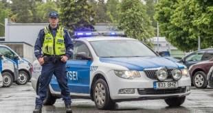 Главный инспектор дорожной полиции Сандер Кулламаа.