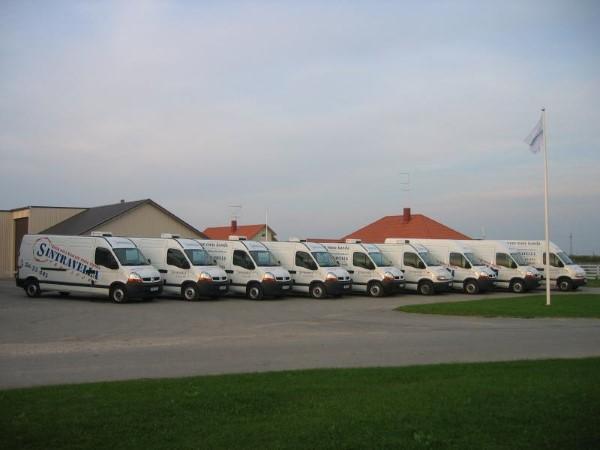 Самый распространенный вид коммерческого автотранспорта в Эстонии - автофургоны.