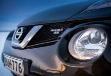 Фото Nissan Juke Nismo RS - вид на шильдик.