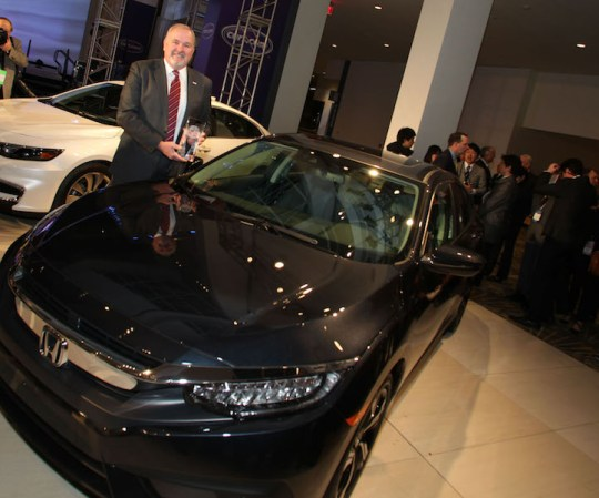North American Car of the Year 2016_Honda Civic