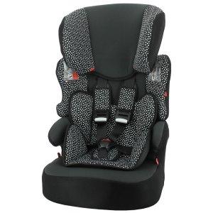 HEMA Autostoel Doorgroei 9-36kg Zwart/witte Stip