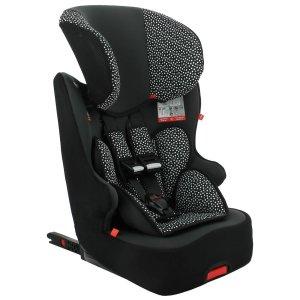 HEMA Autostoel Doorgroei 9-36kg Isofix Zwart/witte Stip