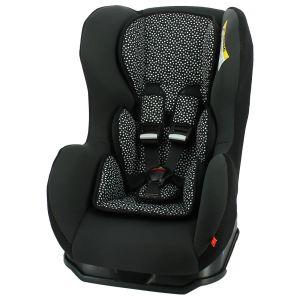 HEMA Autostoel Baby 0-25kg Zwart/witte Stip