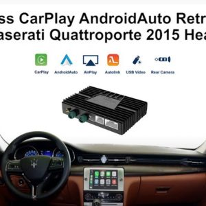 Maserati Wireless CarPlay