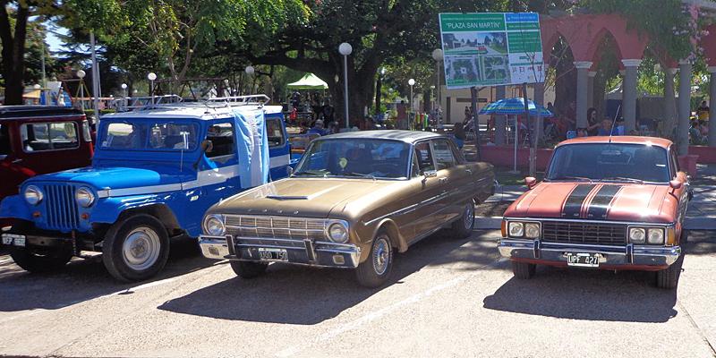 Encuentro de Automóviles Antiguos y Clásicos en Diamante, Entre Ríos.
