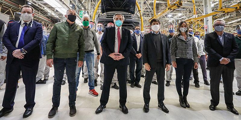 Volkswagen Argentina reinició la producción