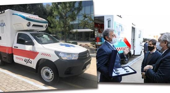 Donación de Toyota Argentina