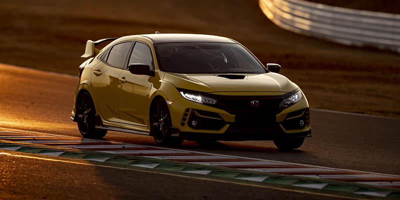 El Honda Civic Type R Limit Edition marcó un nuevo récord de vuelta en el circuito de Suzuka
