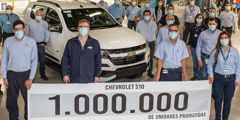 La Chevrolet S10 celebra 25 años y 1 millón de unidades
