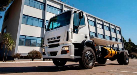 IVECO fabrica el primer camión a GNC en Argentina