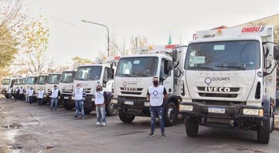 Quilmes y Moreno adquirieron unidades Tector para la recolección de residuos urbanos.