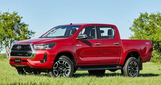Toyota actualizó la Hilux.