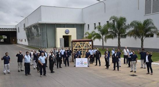 Volkswagen Argentina inicia la exportación de la transmisión MQ281 a la India