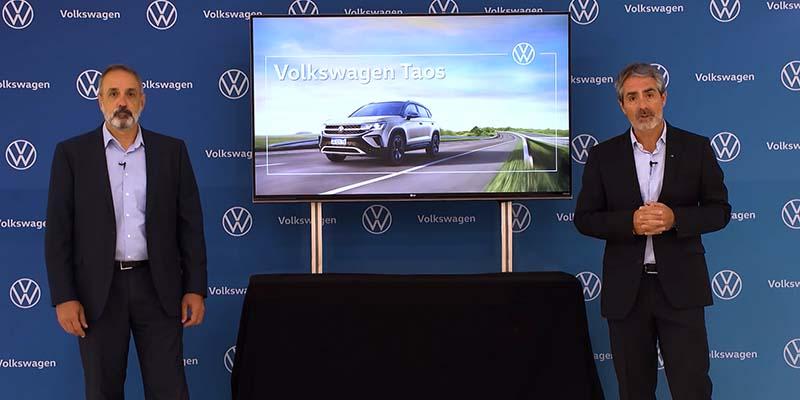 Volkswagen revela detalles del Taos