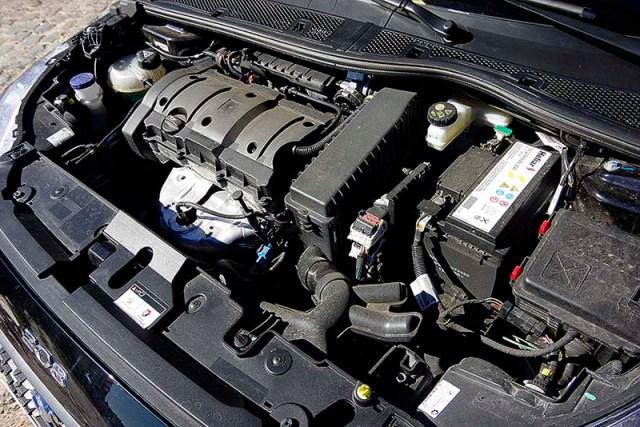 Motor del Peugeot 208