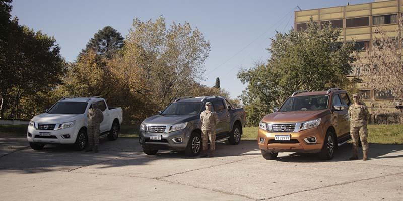 Nissan brinda apoyo logístico al Ejército Argentino