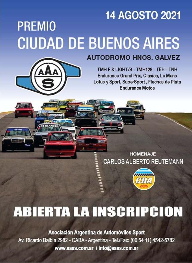 Premio Ciudad de Buenos Aires de la AAAS.