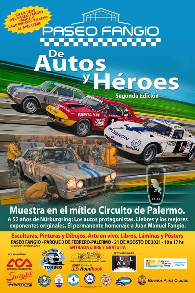 """""""De Autos y Héroes"""" - Segunda edición"""