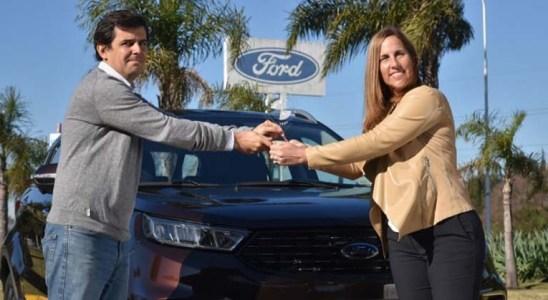Ford Territory el SUV mediano más seguro.