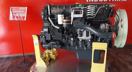 FPT exporta su motor número 100.000.