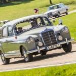 Caravana de Mercedes-Benz para festejar 70 años en Argentina.