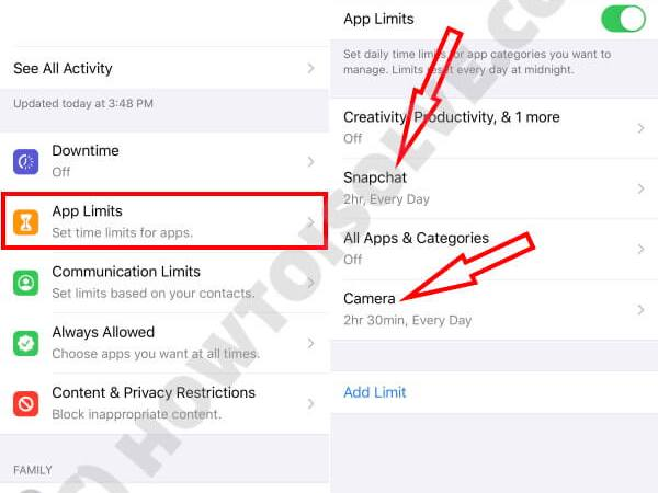 Как разрешить доступ к камере для Snapchat на iPhone и Android?
