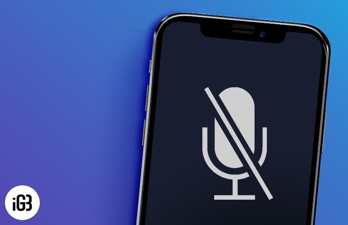 Микрофон iPhone не работает?Вот исправление!