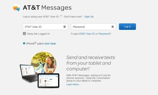 Как проверить свои AT & T текстовые сообщения онлайн