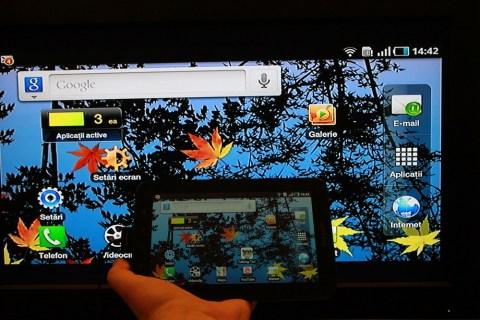 Galaxy Note 10.1 – Как отразить экран